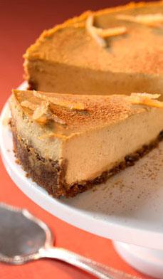 Pumpkin-Cheesecake-Gingersnap-Crust